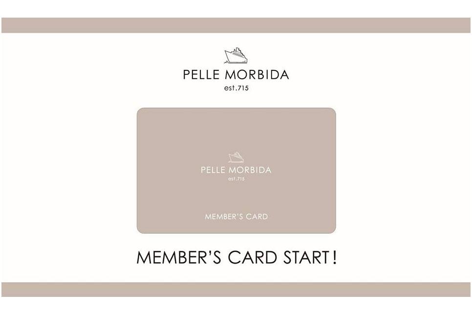 直営路面店限定MEMBER'S CARD開始のお知らせ